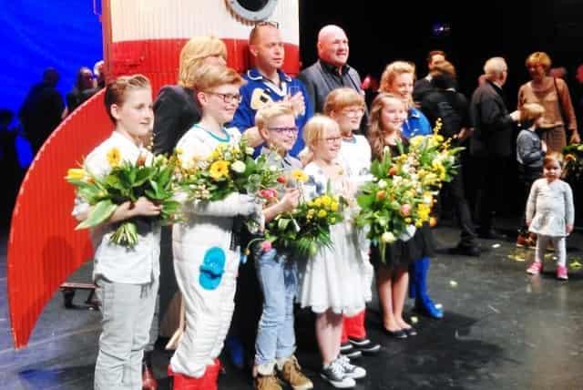 Andre het astronautje in het theater - Mamaliefde.nl
