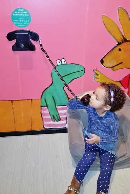 Kikker tentoonstelling Kinderboekenmuseum Den Haag - Mamaliefde.nl