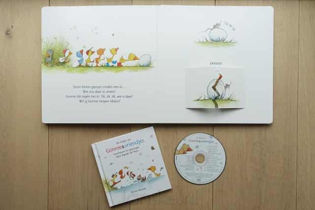Gonnie & Vriendjes in ganzenpas met liedjes cd - Mamaliefde.nl