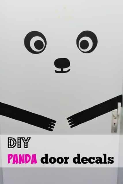 DIY: Zelf een panda deursticker maken - Mamaliefde.nl