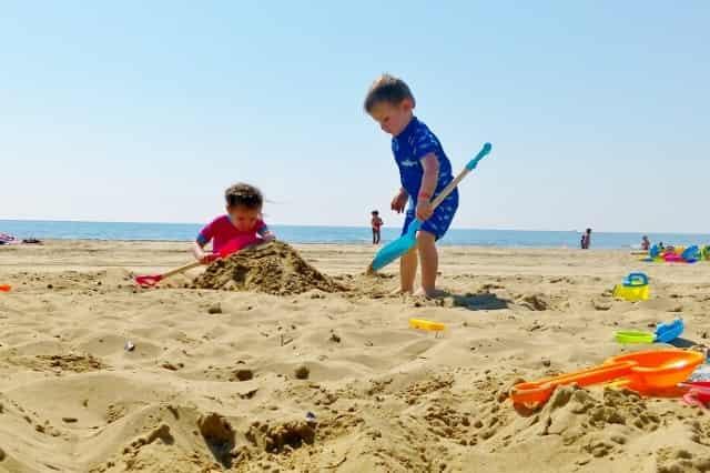 Kamperen aan de Adriatische kust en Venetië op Camping Marina de Venezia met Eurocamp met twee peuters - Mamaliefde.nl