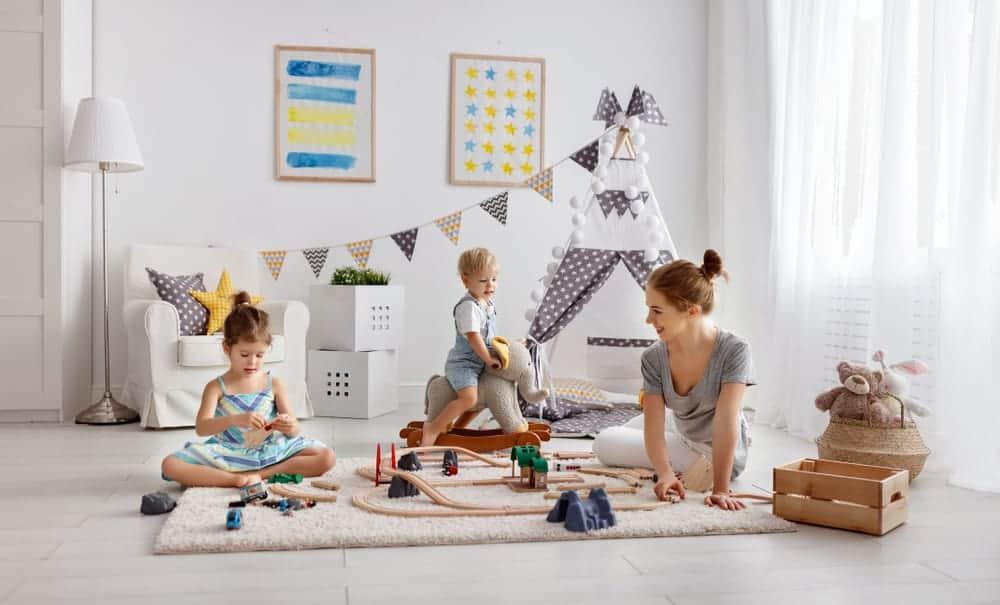 Ideeen Speelhoek Woonkamer : De leukste ideeën voor in het speelhoekje ⋆ mamaliefde