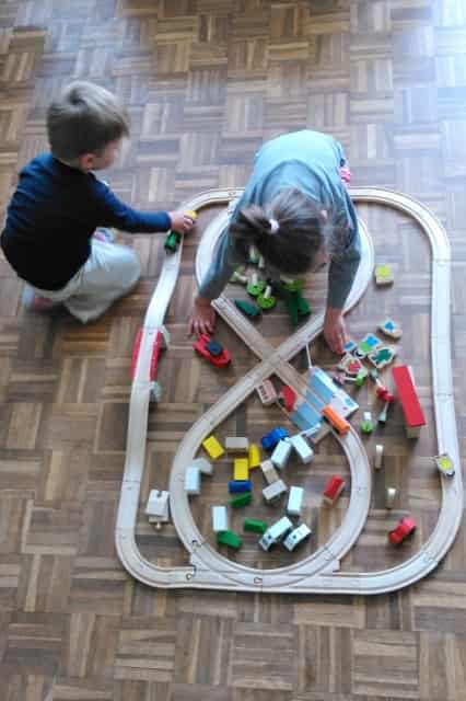 Review; Bigjigs Houten treinbaan - mamaliefde.nl