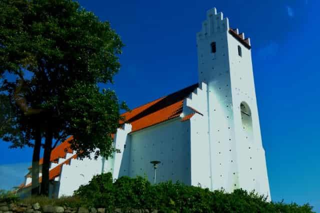 Natur Park Mols Bjerge: Draaby kerk - Mamaliefde.nl