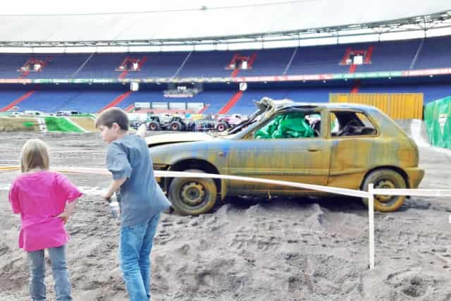 Monster Jam 2016 de kuip Pit Party - Mamaliefde.nl