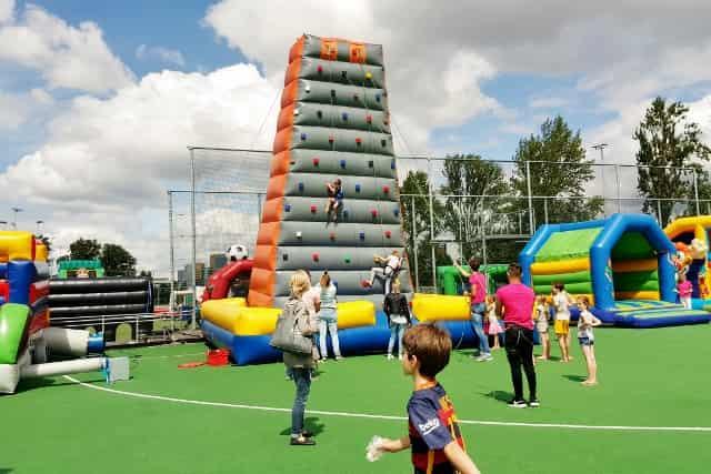 Springvallei Rotterdam; Springen, sport en spel - Mamaliefde.nl