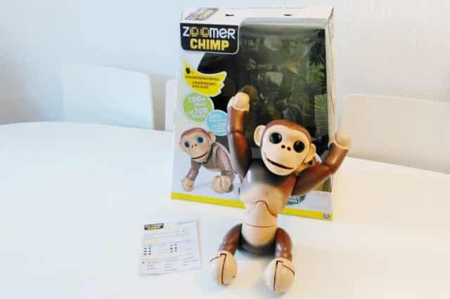 Review Zoomer Chimp van Spin Masters - Mamaliefde.nl