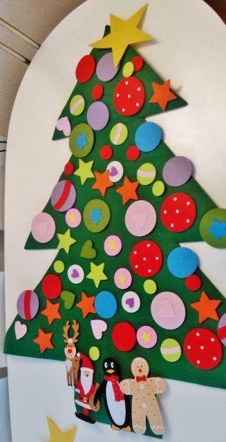 Vilten kerstboom kant en klaar kopen Xenos - mamaliefde.nl.