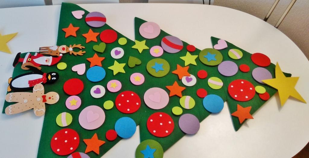 Vilten kerstboom; kopen of zelf maken? - Mamaliefde.nl