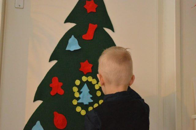 Zelf een vilten kerstboom maken - Mamaliefde.nl