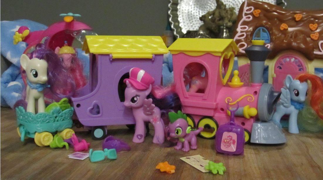 My Little Pony trein - Mamaliefde.nl