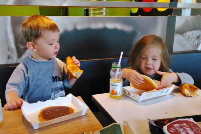 Ontbijt macdonalds - Mamaliefde.nl