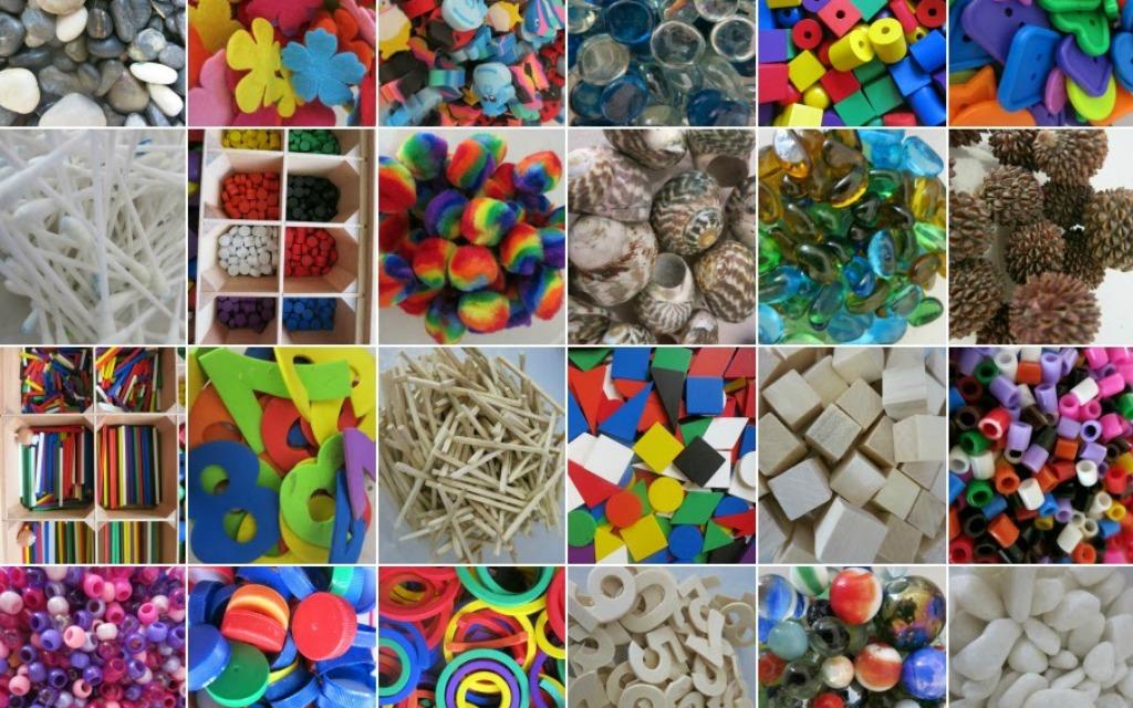Loose parts; voorbeelden van open einde materiaal en speelgoed - Mamaliefde.nl