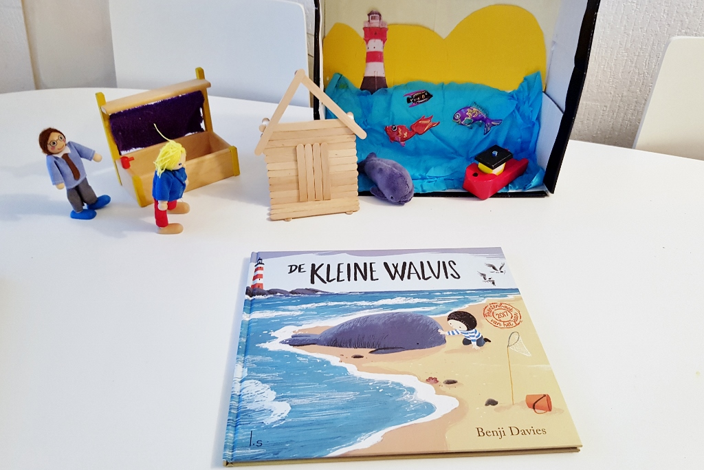Recensie; De Kleine Walvis; prentenboek van het jaar 2017 - Mamaliefde.nl