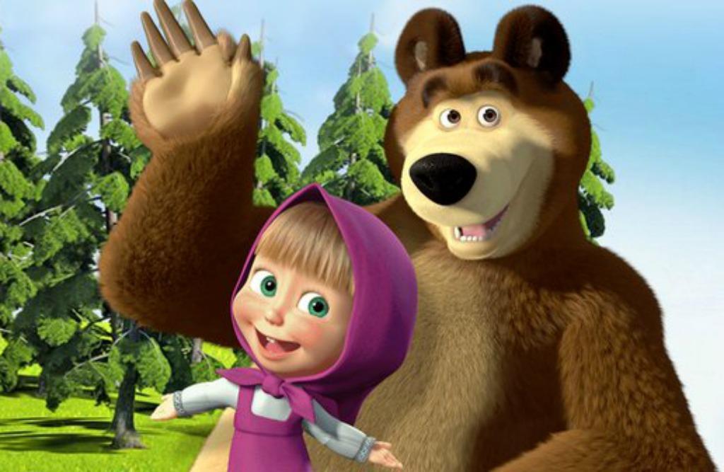 Masha en de beer in de bioscoop - Mamaliefde.nl
