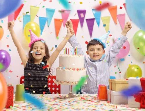 Kinderfeestje thuis ideeën en thema