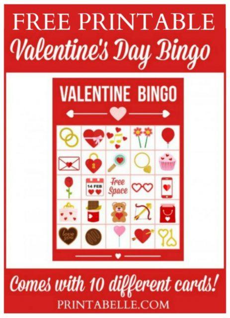 Valentijns Bingo - Mamaliefde.nl