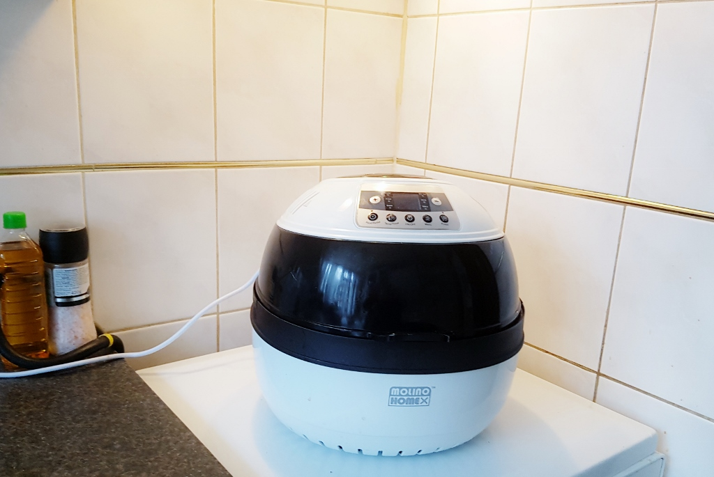 Review: Molino airfryer - Mamaliefde.nl