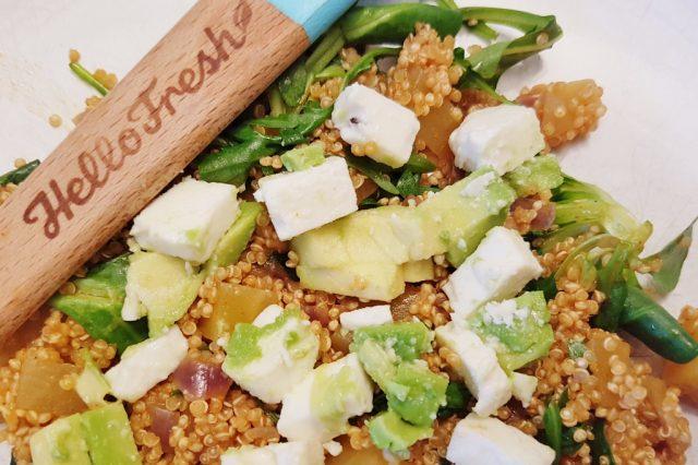 #groenemaandag; een dag per week vegetarisch eten zonder vlees en met meer groenten Hello Fresh - Mamaliefde.nl