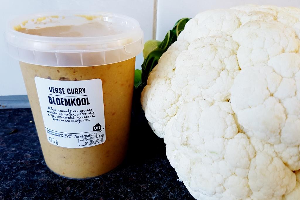 Recept: Bloemkool curry met verse AH-sauzen makkelijk en lekker - Mamaliefde.n