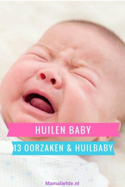 Baby's huilen; 13 oorzaken die kunnen verklaren waarom. Als je baby regelmatig huilt kan er sprake zijn van een huilbaby. Tips voor wanneer je baby huilt - Mamaliefde.nl