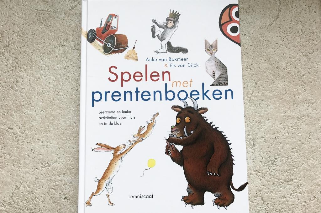 Recensie; Spelen met prentenboeken - Mamaliefde.nl