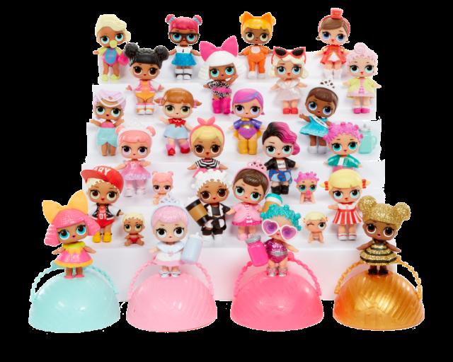 Lol Surprise Speelgoed Overzicht Alle Poppetjes Ballen En Pets