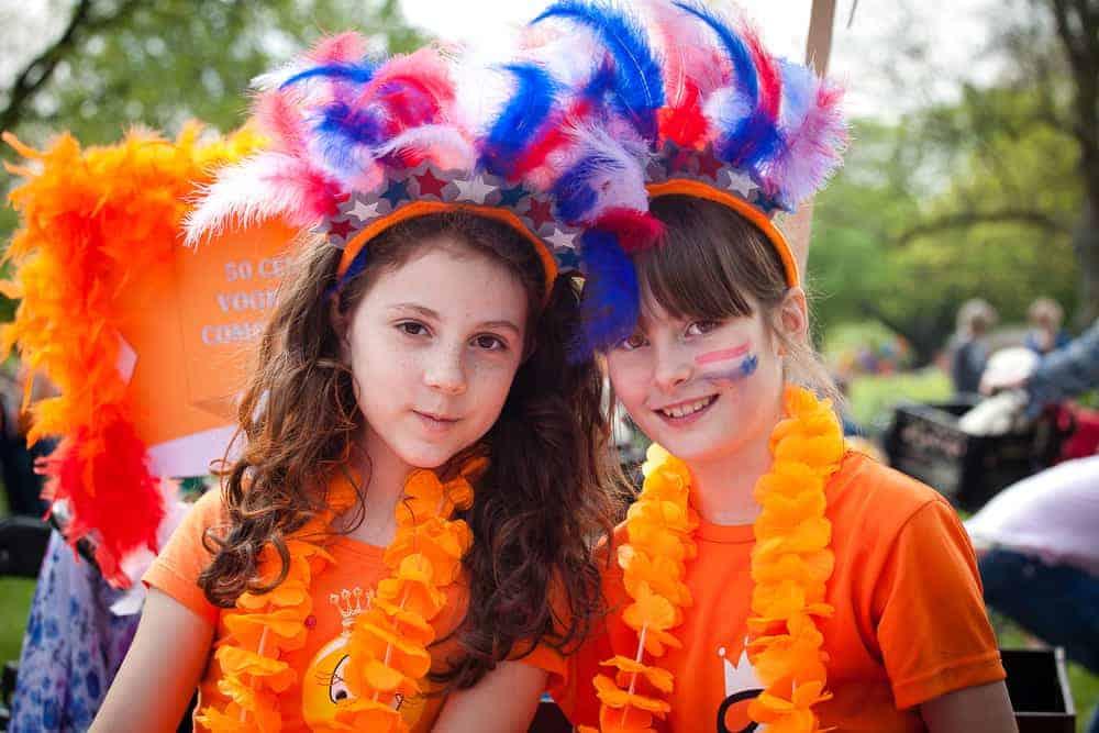 Koningsdagkleding; oranje shirts & accessoires voor kinderen - Mamaliefde.nl
