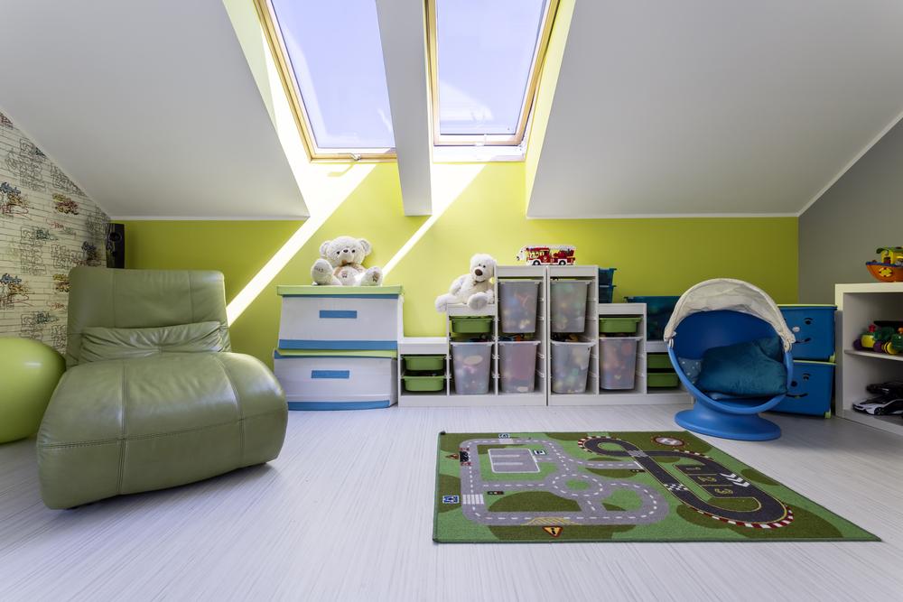 ieder kind zijn eigen slaapkamer