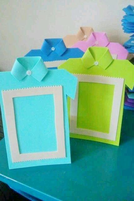 Verbazingwekkend Vaderdag knutselen; 33x cadeau maken voor papa met baby, peuter WP-07