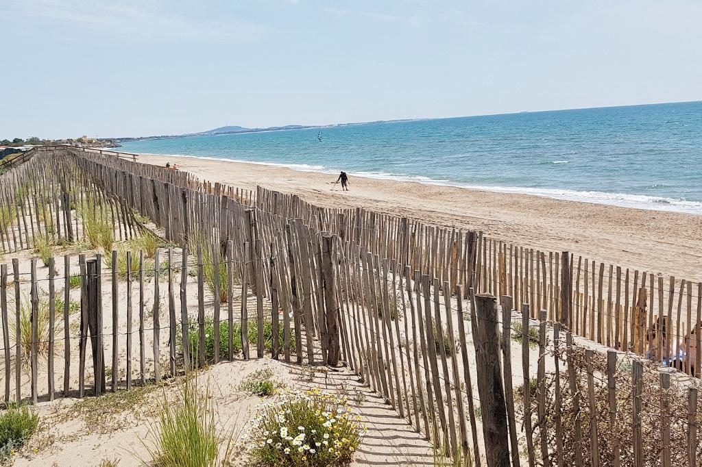 Camping Mediterrannee Plage aan de kust bij Beziers Frankrijk - Mamaliefde.nl