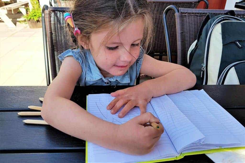 Reislogboek; een dagboek met iedere dag een tekening tijdens het reizen! -Mamaliefde.nl