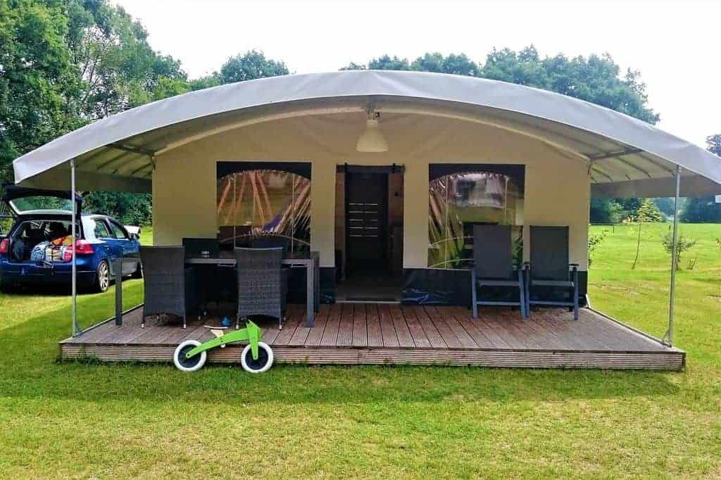 Camping Witte Berg Ootmarsum; kindvriendelijk kamperen in luxe in Twente - Mamaliefde.nl