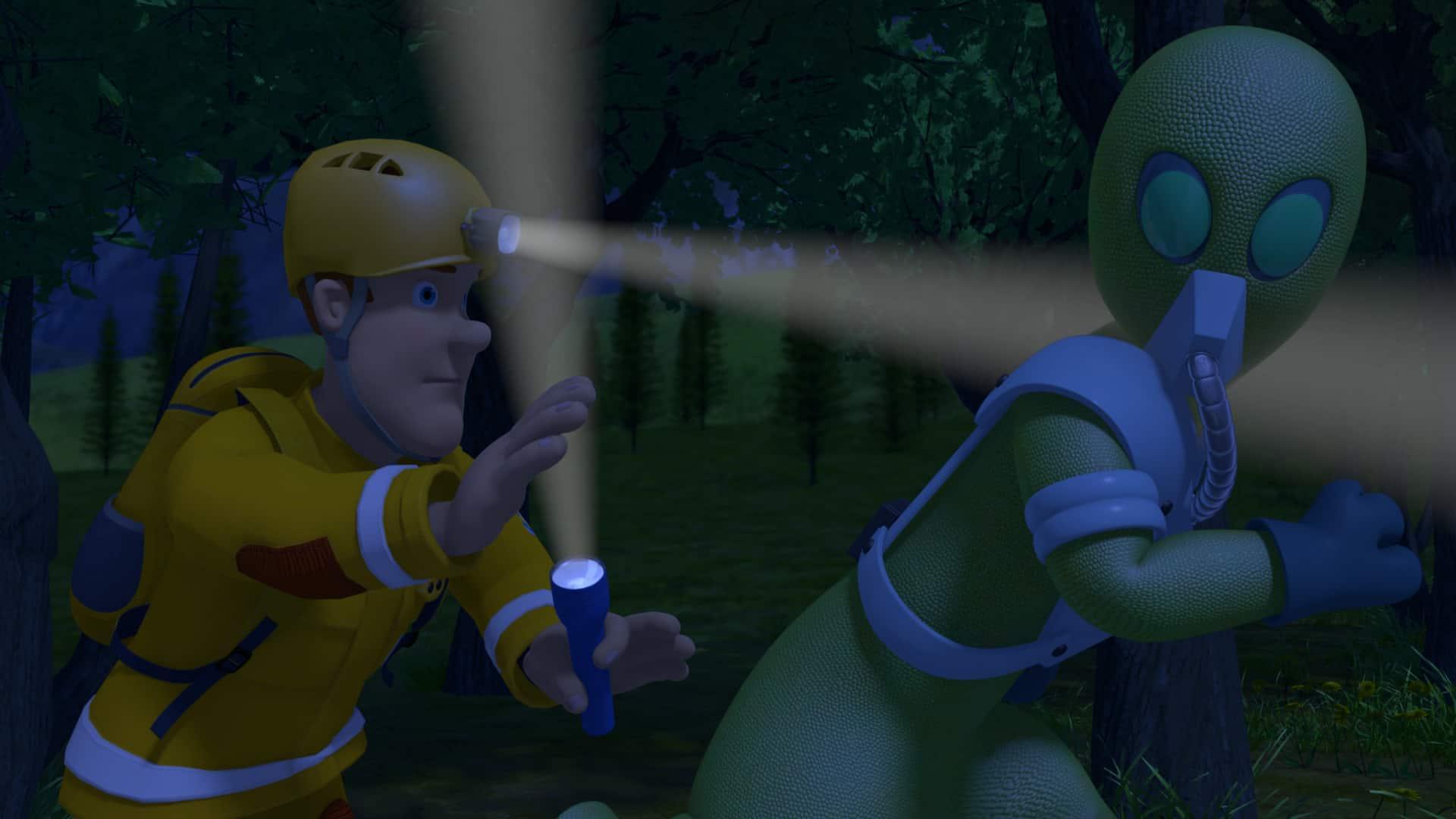 Recensie; brandweerman Sam en het Ufo-alarm - Mamaliefde.nl