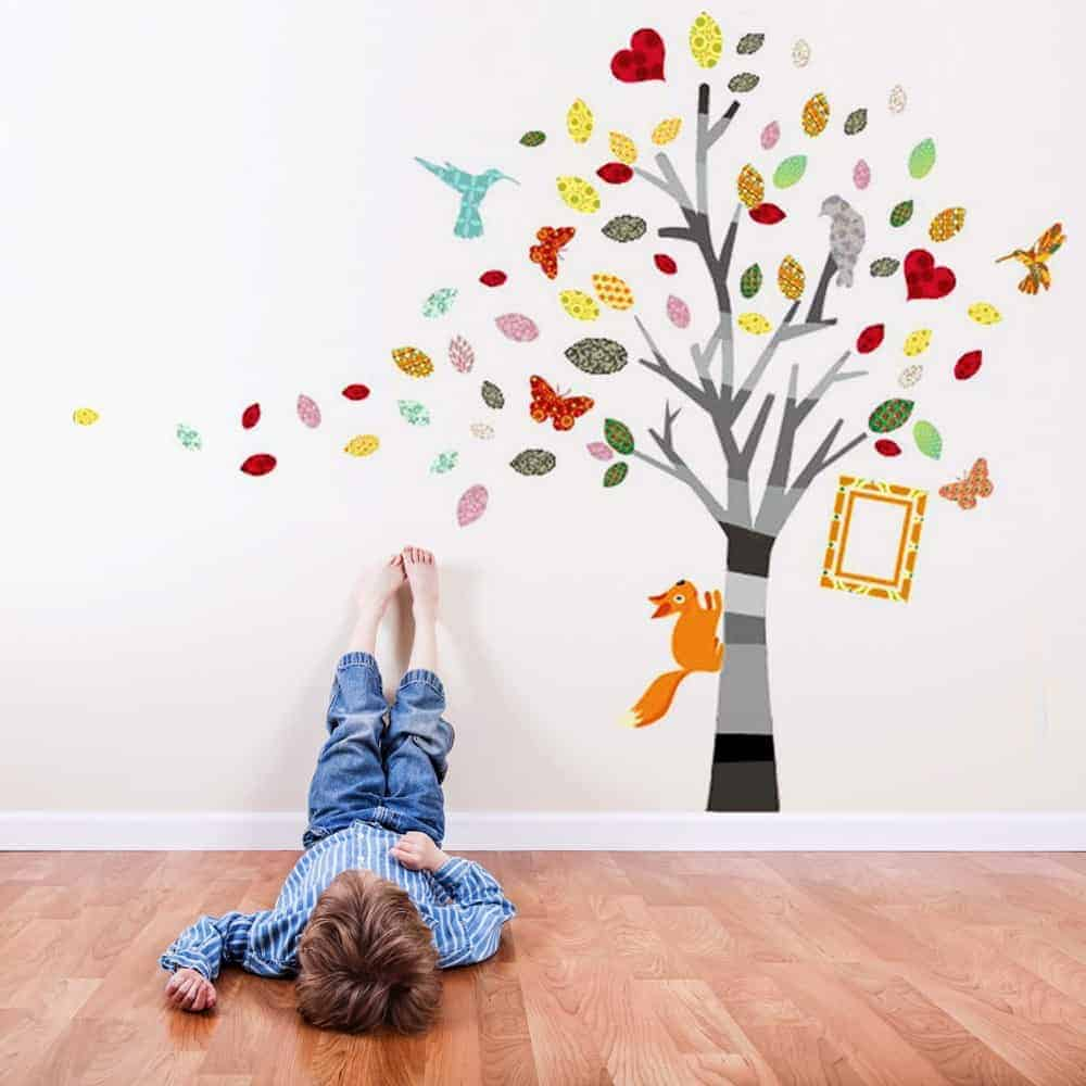 Vier originele ideeën als wanddecoratie voor de kinderkamer - Mamaliefde.nl