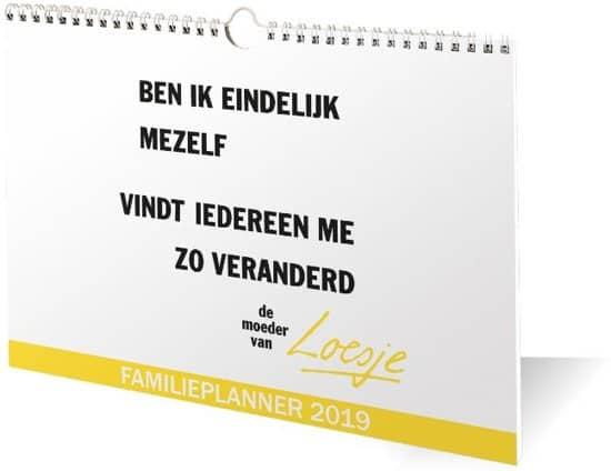 Familie Kalender Gezinsplanner Agenda 2019 2020