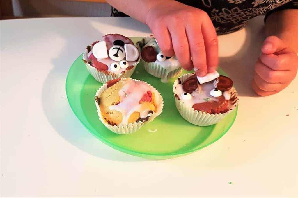 Gruwelijk (zoete) monster-/herfstcupcakes - Mamaliefde.nl