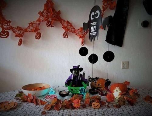 DIY: Halloween Trick or Treat-buffet
