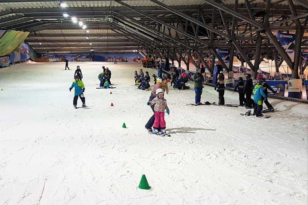 Eerste skiles voor kinderen bij Snowworld Zoetermeer - Mamaliefde.nl