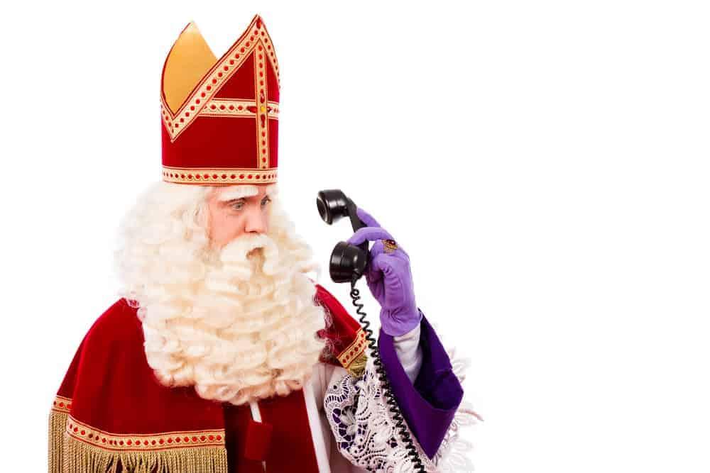 Sinterklaas bellen; super handig via de gratis app zonder dat je telefoonnummer nodig hebt! Of je hem nu laat bellen of zelf belt. Ook optie met voicemail en chat. - Mamaliefde.nl