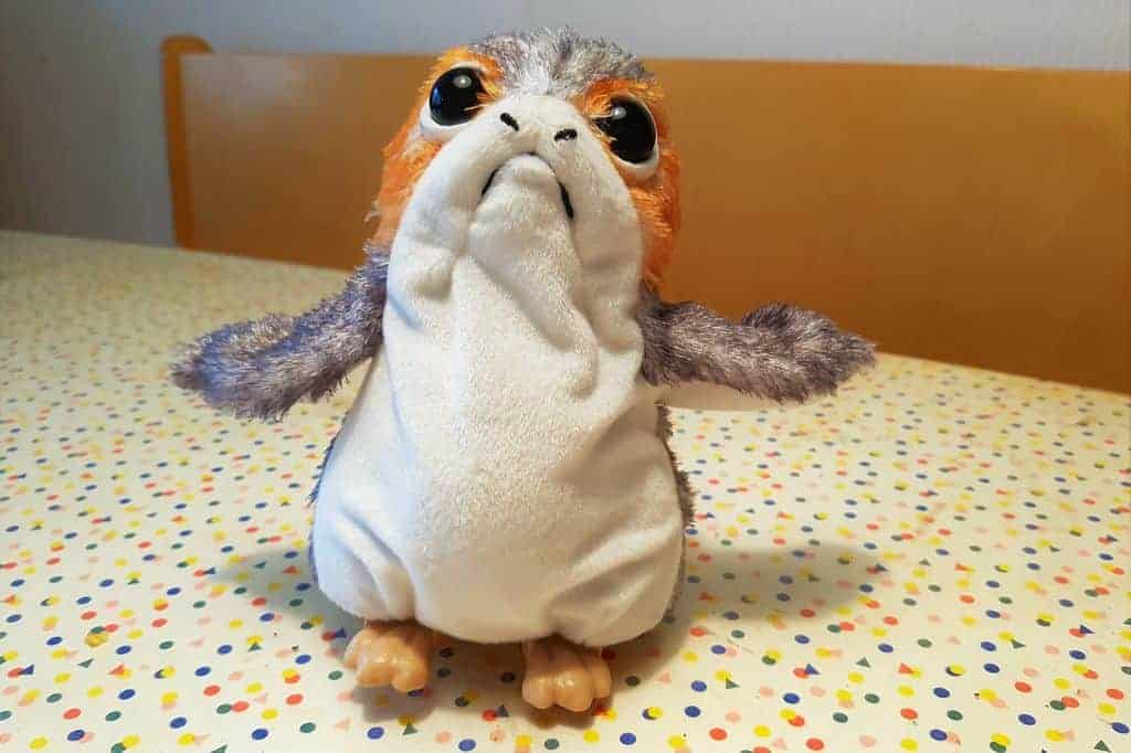 Review; Star Wars: The Last Jedi Porg - Mamaliefde.nl