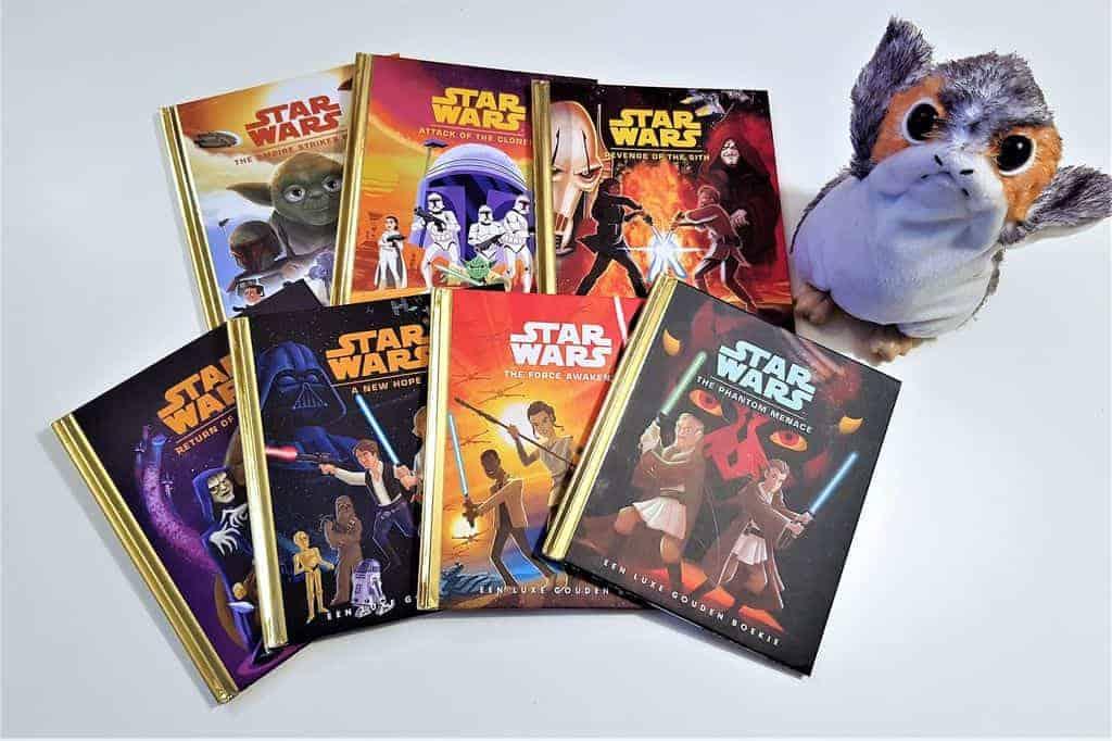 Speciale uitgave Gouden boekjes; Star Wars serie - mamaliefde.nl