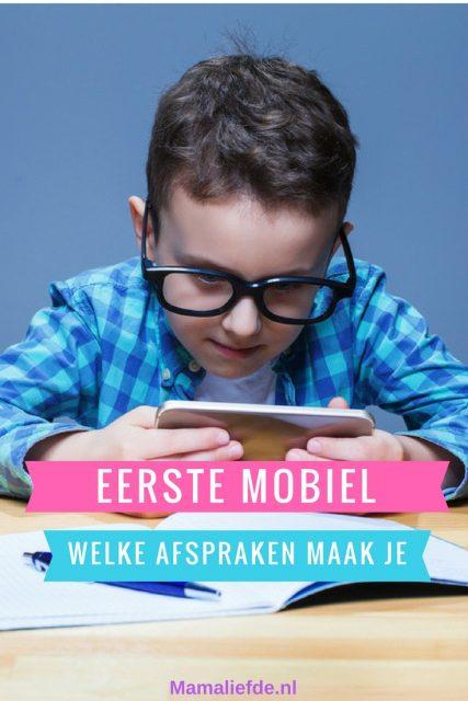 Eerste mobiele telefoon van je kind; welke afspraken maak je? - Mamaliefde.nl