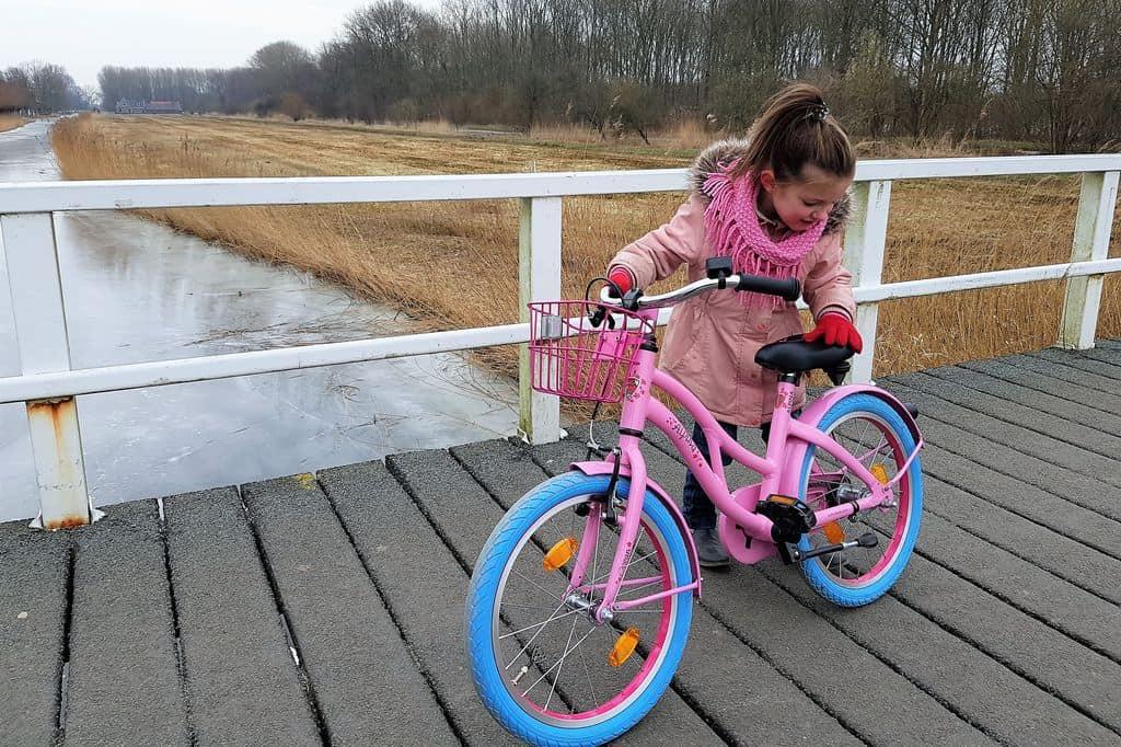 Review: Alpina Ocean meisjesfiets - Mamaliefde.nl