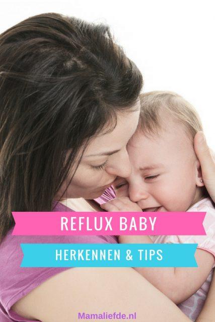Reflux bij baby's; van herkennen symptomen tot tips en medicijnen - Mamaliefde.nl