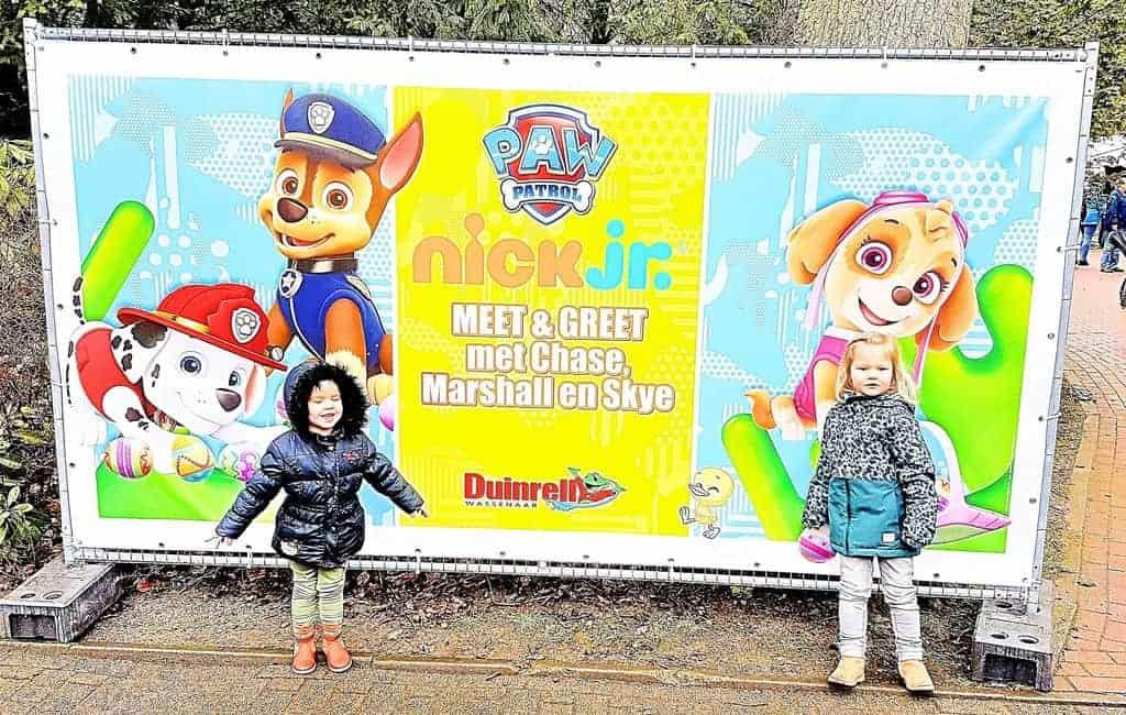 Nick Jr. Fandagen: Meet en Greet tijdens Pasen je nickelodeon helden in Duinrell Wassenaar! Zoals Paw Patrol en Dora. - Mamaliefde.nl