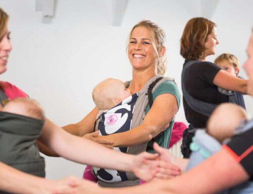Kangatraining – sporten mét je baby (in een draagzak)