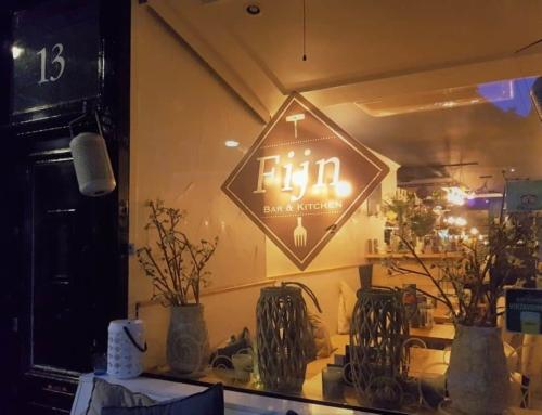 Verrast worden met een proeverij bij Fijn Bar & Kitchen