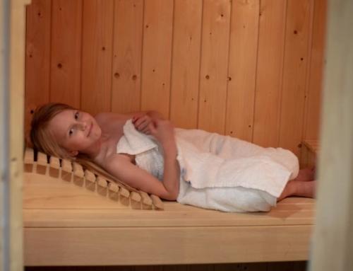 Sauna met kinderen; van prive sauna tot wellness arrangement met kind