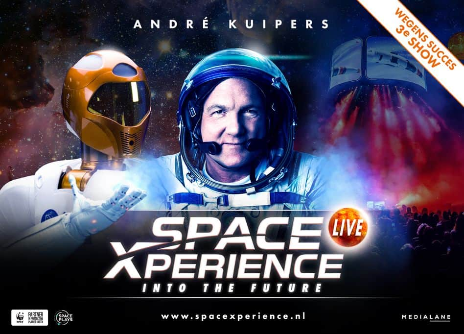 SpaceXperience – into the future LIVE met André Kuipers - Mamaliefde.nl